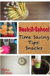 Back-2-School Time Saving Tips: Snacks