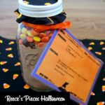Reece's Pieces Halloween Cookies In A Jar & Printable