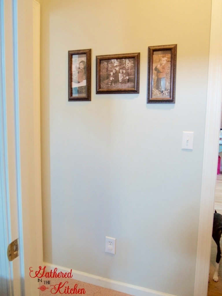 DIY Hallway Wall Transformation 1