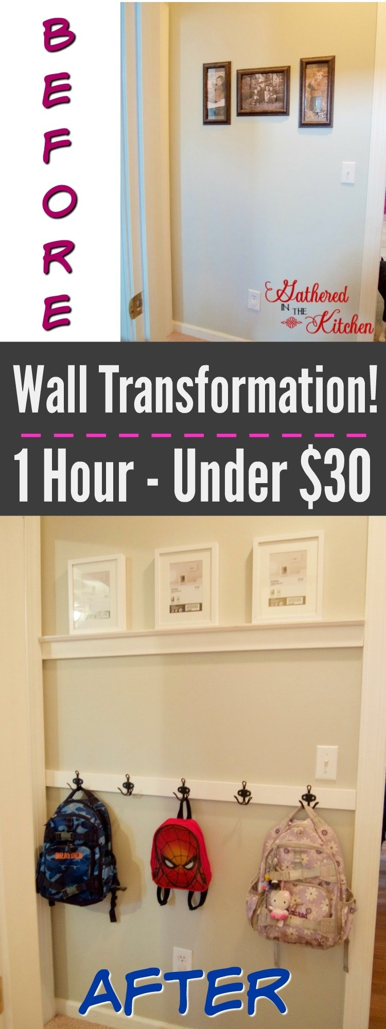 DIY Wall Transformation