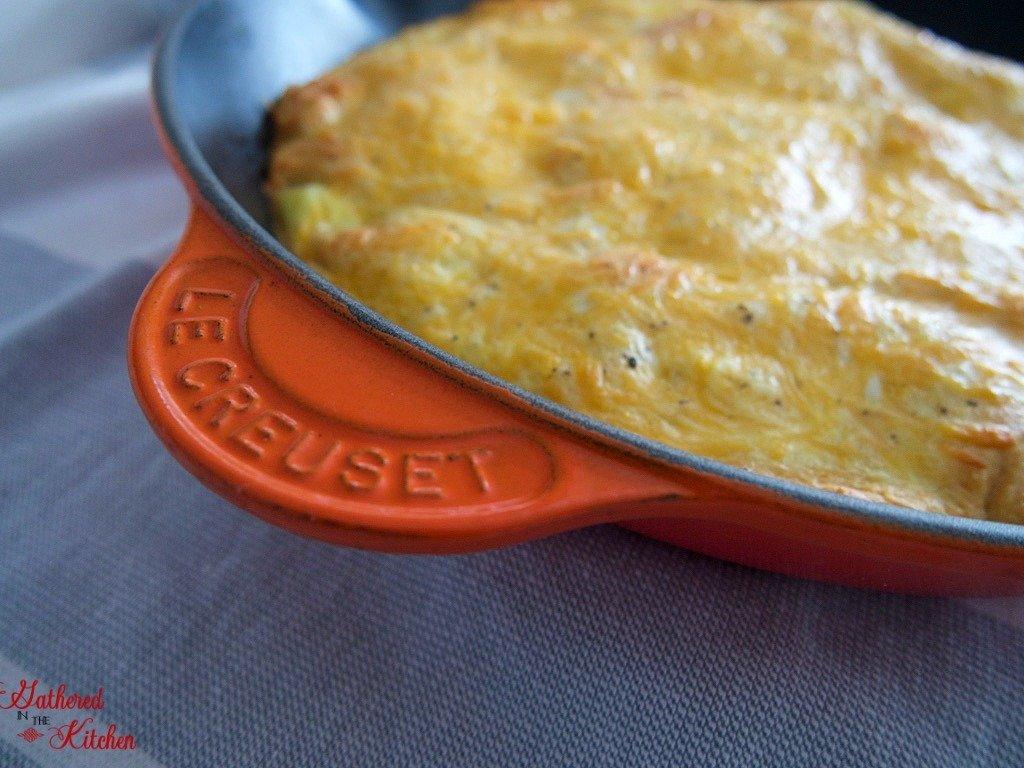 Crescent Roll Breakfast Casserole