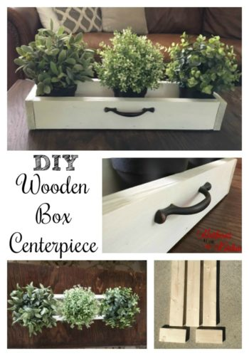 Wedding Centerpieces | Rustic Centerpieces | Small Wooden Boxes | DIY Wooden Box Centerpiece for Under $5