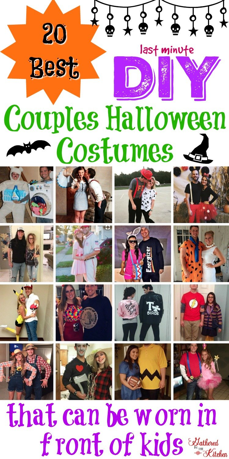 Couples Halloween Costumes 2019 Diy.20 Best Diy Couples Halloween Costumes That Can Be Worn In