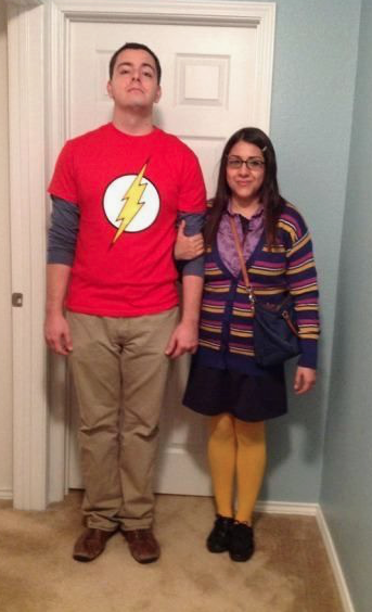 Couples Halloween Costumes: Sheldon & Amy