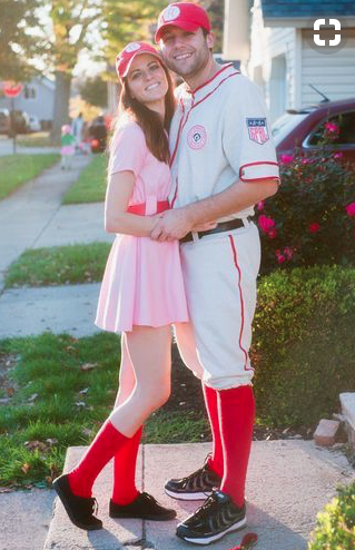Couples Halloween Costumes: A League Of Their Own