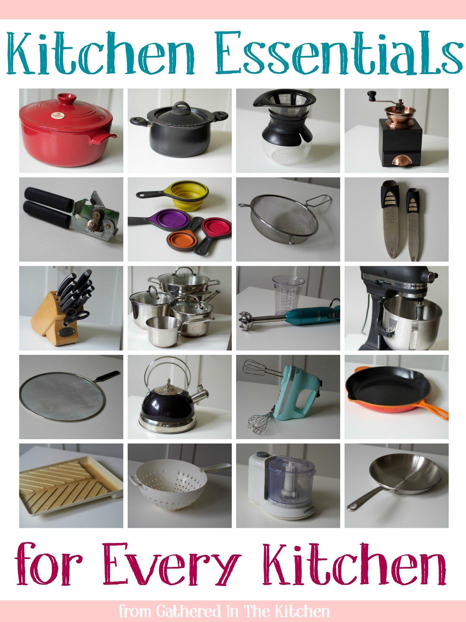 Kitchen Essentials for Every Kitchen