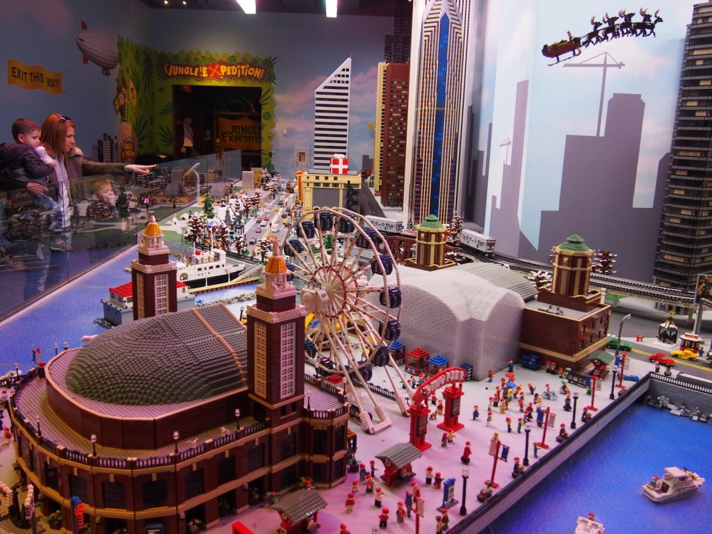Legoland Discovery Center Chicago, The Ultimate Indoor Lego Playground