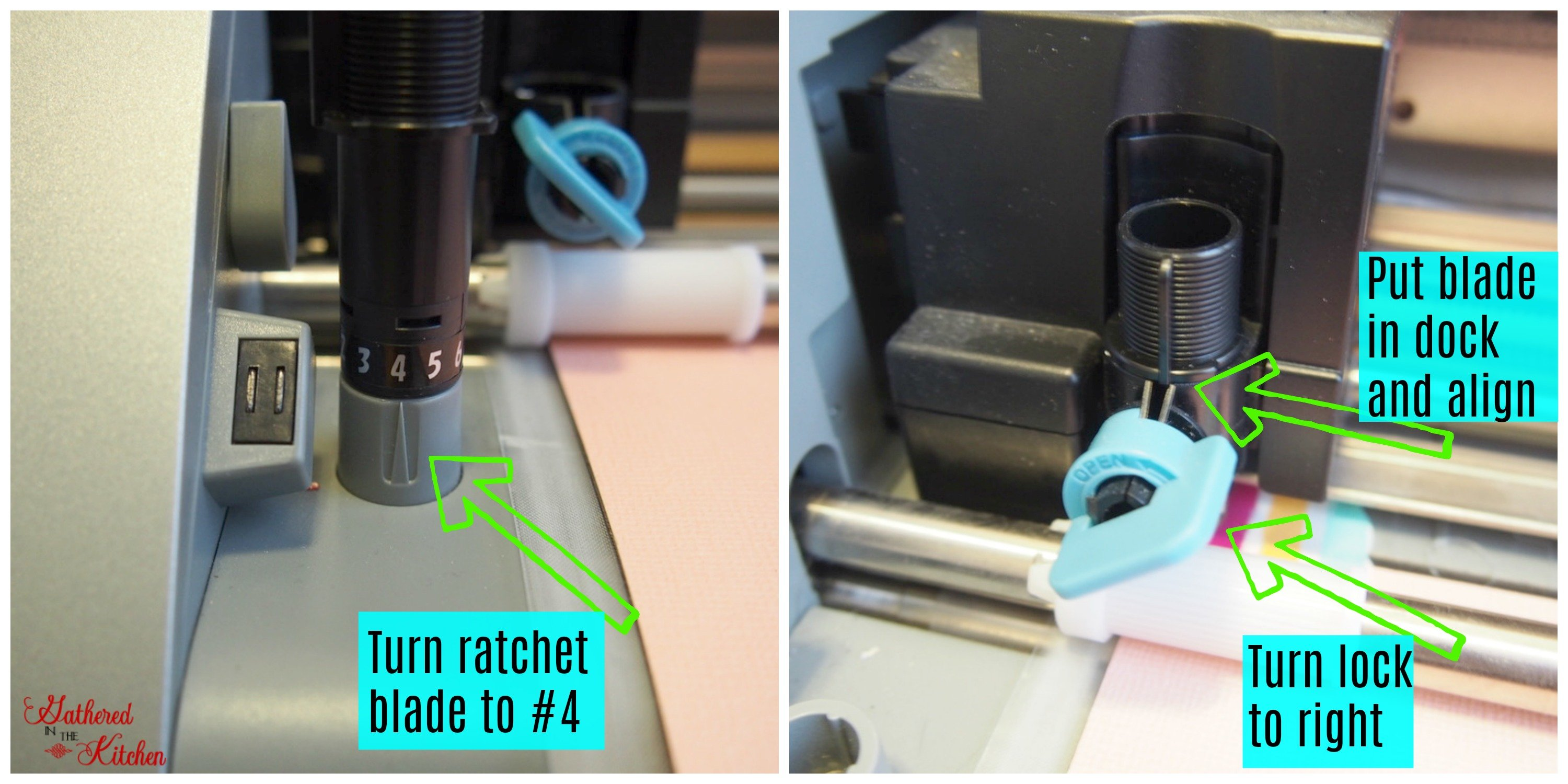 blade settings for Cardstock paper in silhouette cameo cutting machine