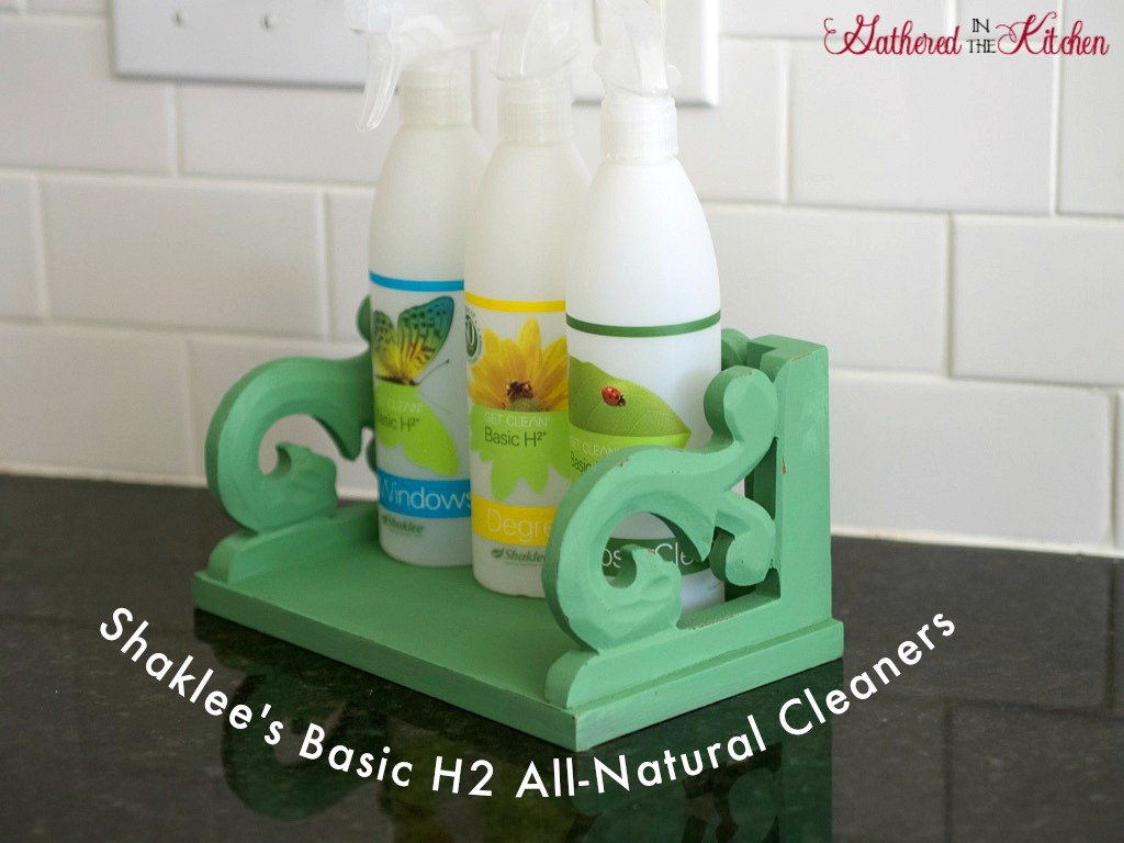Shaklee's Basic H2 All-Natural Cleaners