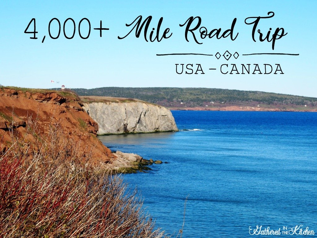 4,000+ mile road trip USA to Canada