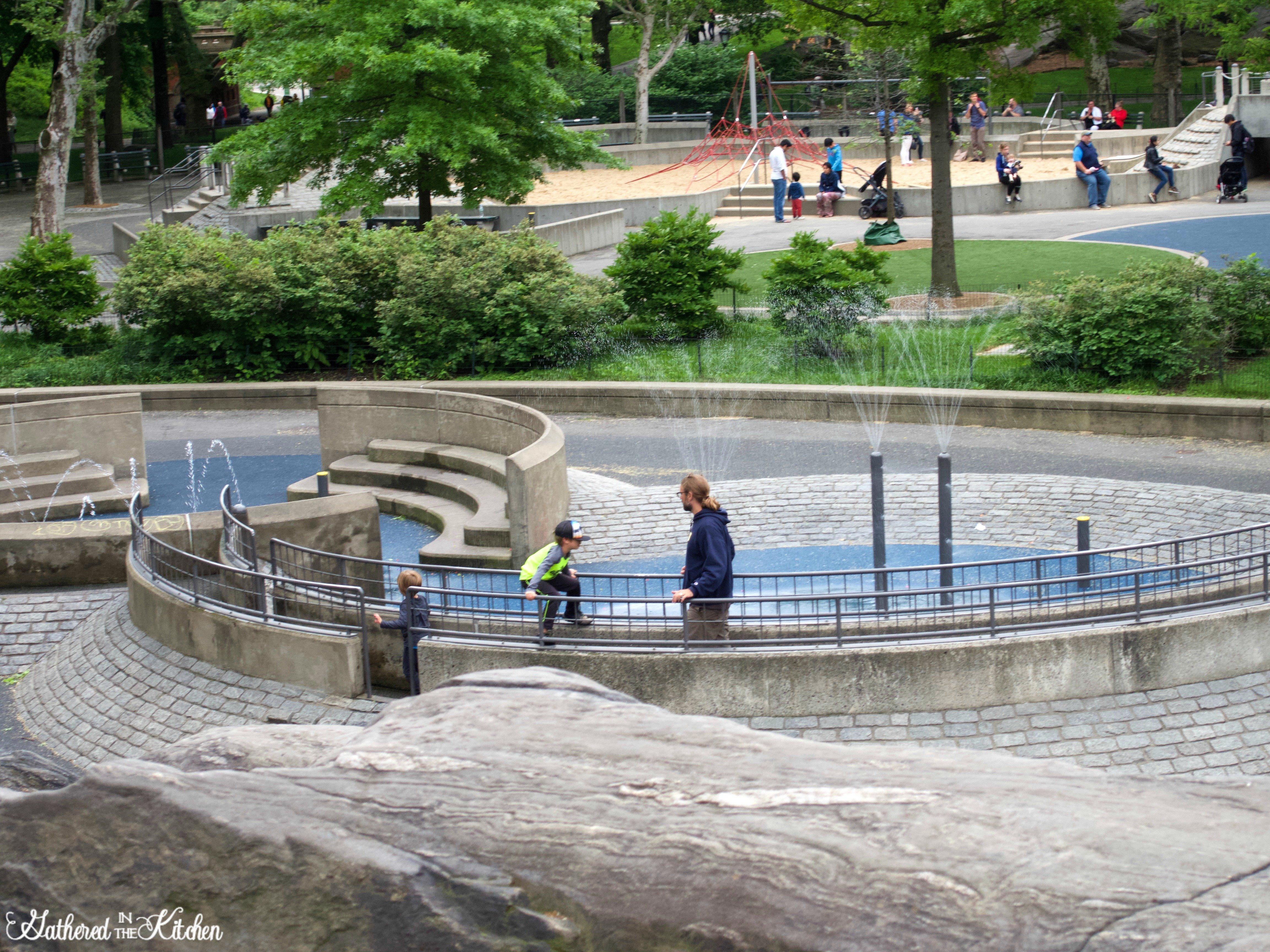 Heckscher Playground at Central Park NYC