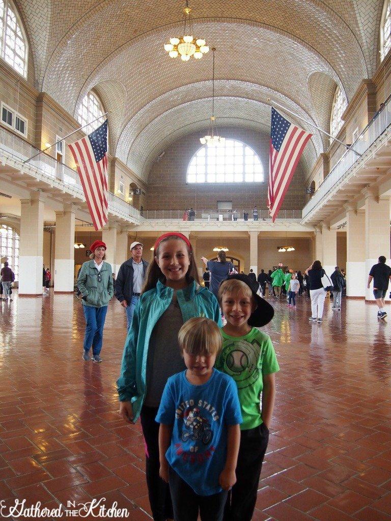 Ellis Island Registry Room