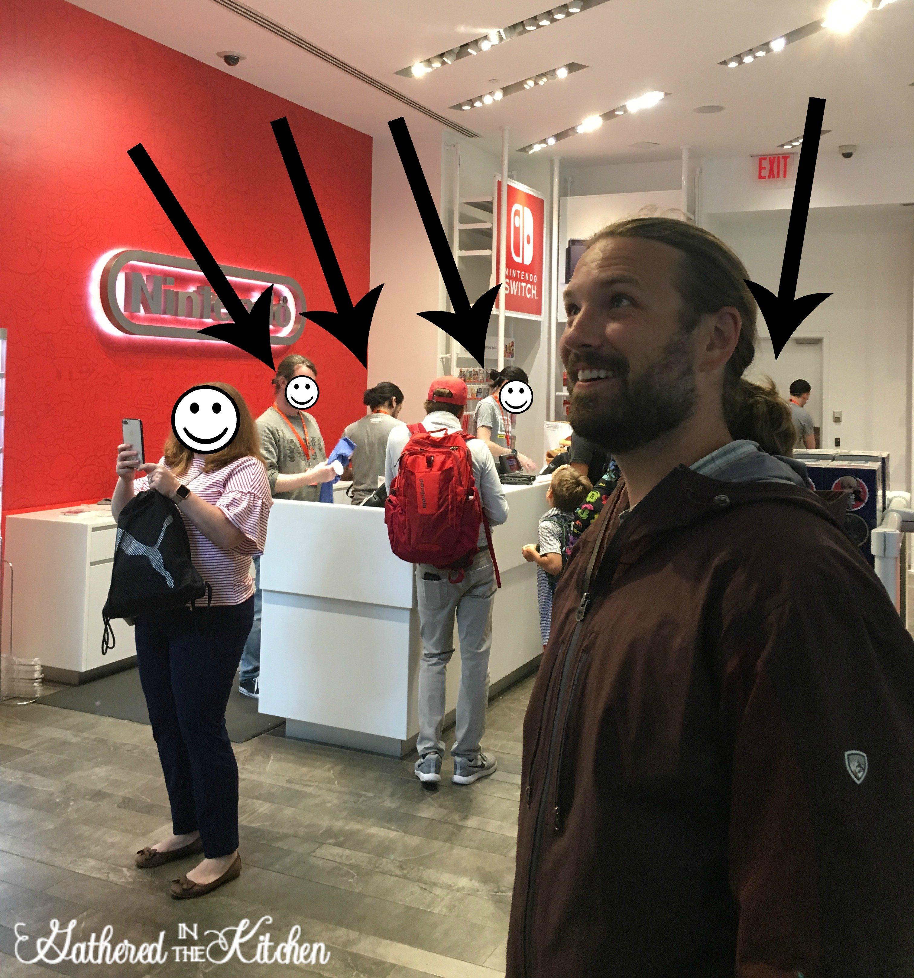 Nintendo Store in Rockefeller Center NYC