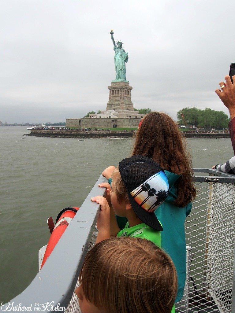 Statue Of Liberty Ferry, New York City