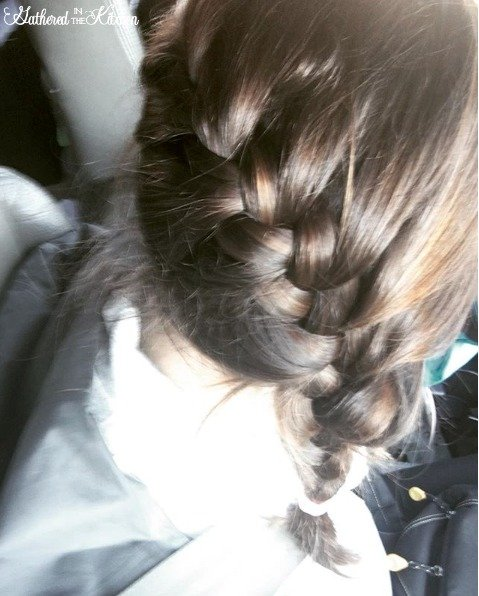 braided hair for camping
