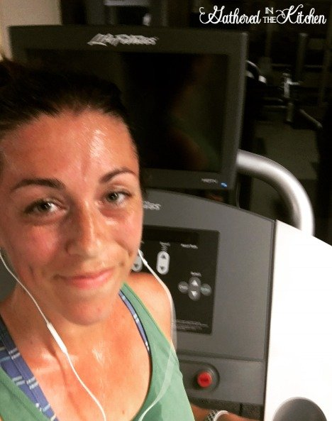 Nike Apple Watch treadmill run