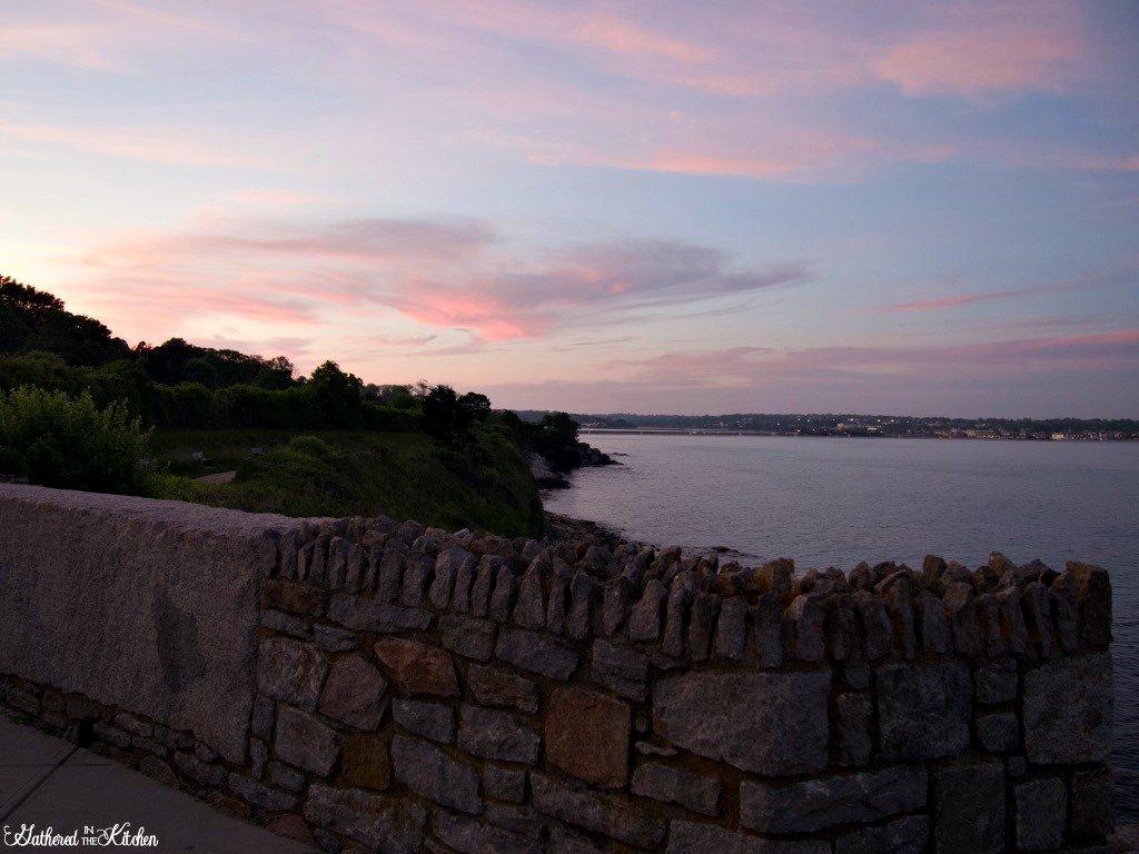 Cliff Walk Newport, Rhode Island