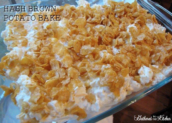 Hash Brown Potato Bake