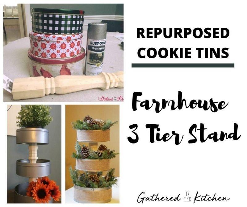 Repurposed Cookie Tins Crafts