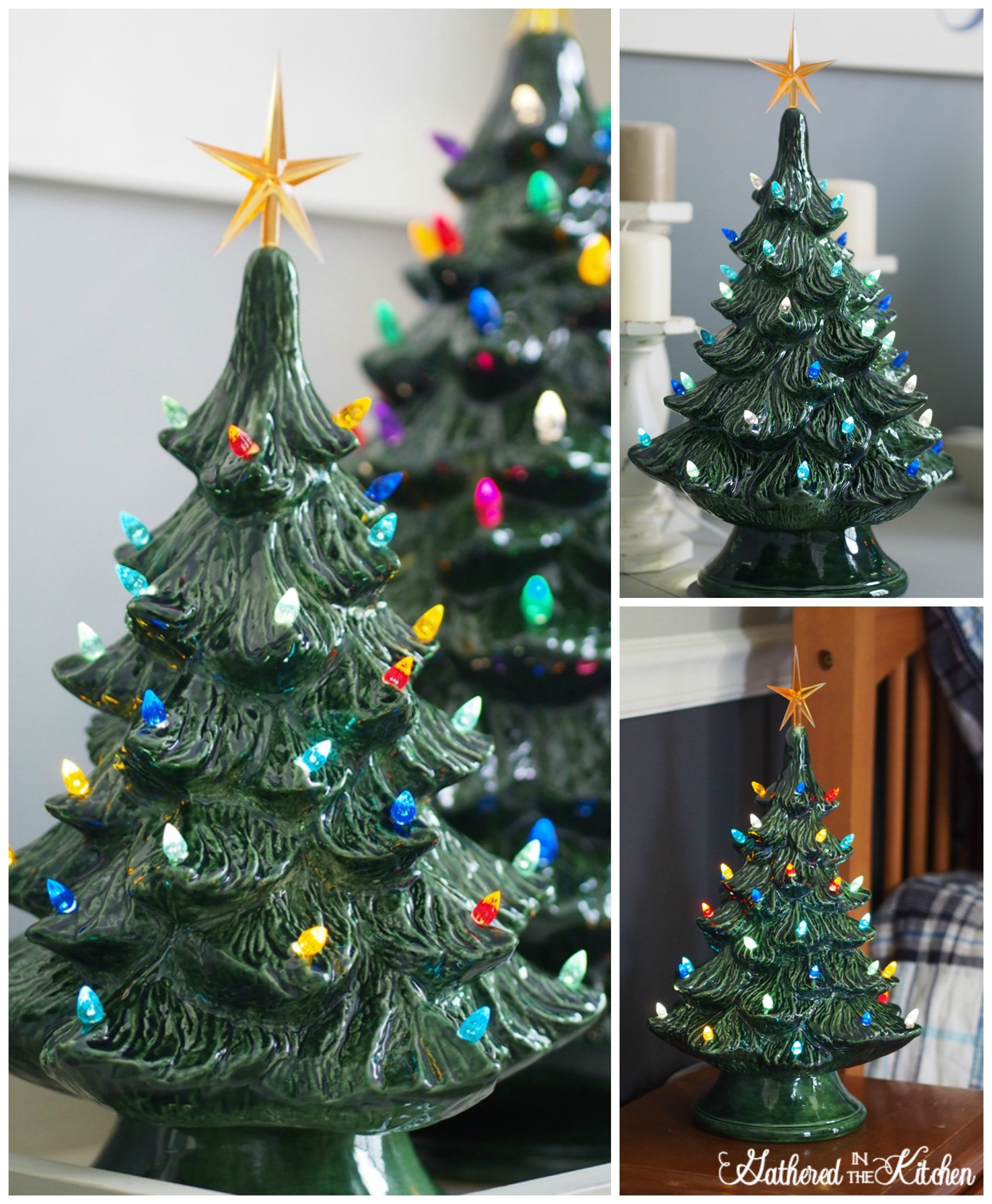 Where Does Christmas Trees Come From: Paint Your Own Ceramic Christmas Tree With Light Kit