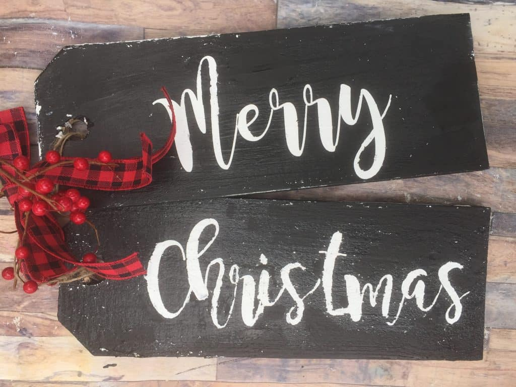 DIY Door Decor for Christmas