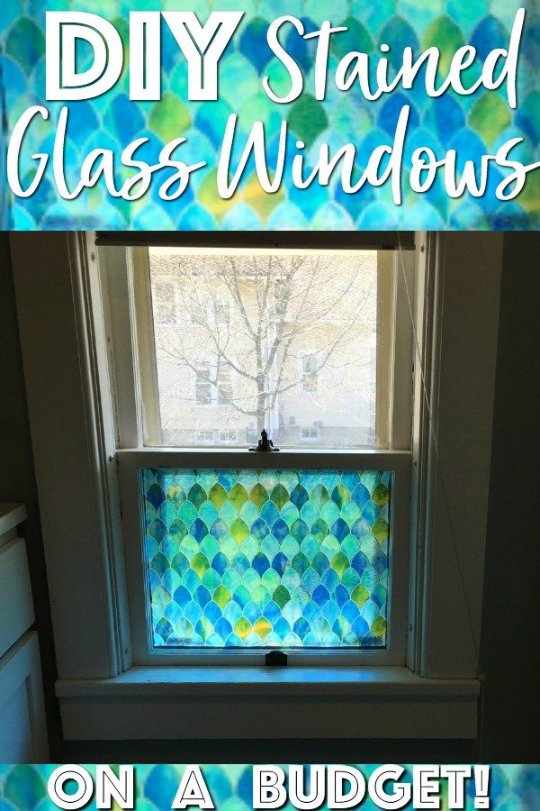 DIY Stained Glass Windows - Gathered In The Kitchen