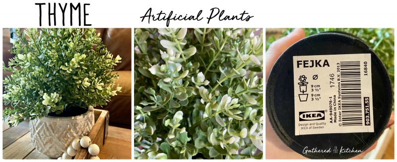 Artificial Thyme Plant