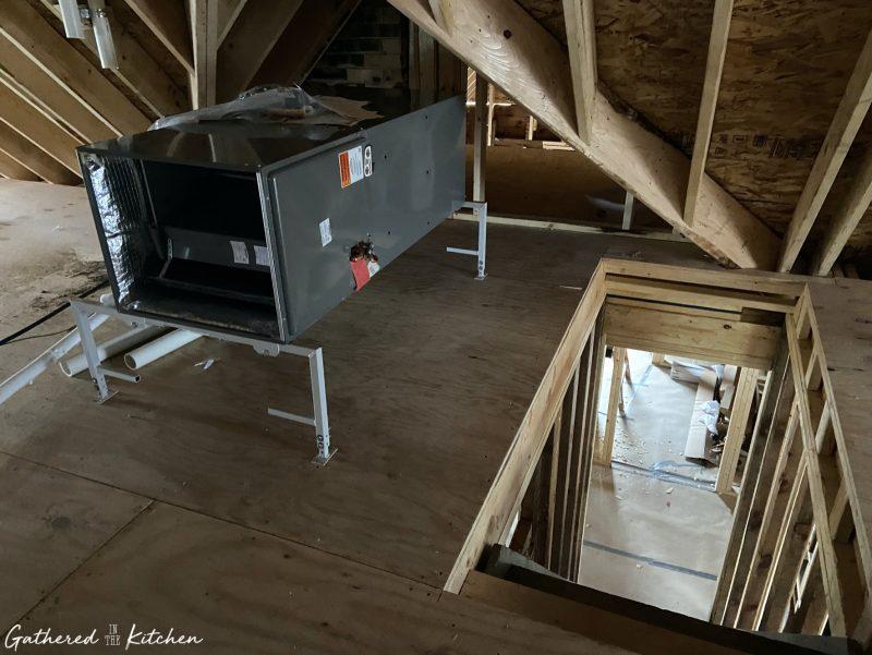 HVAC in Victorian Home rebuild