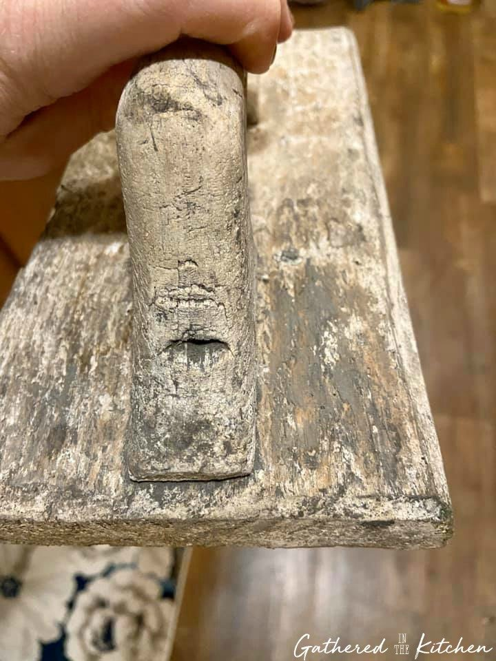 1800s Common Wood Flat used for plastering