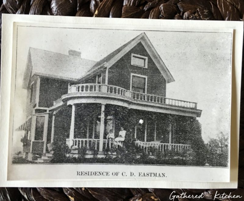 Residence of Charles Eastman - 1886 Victorian home