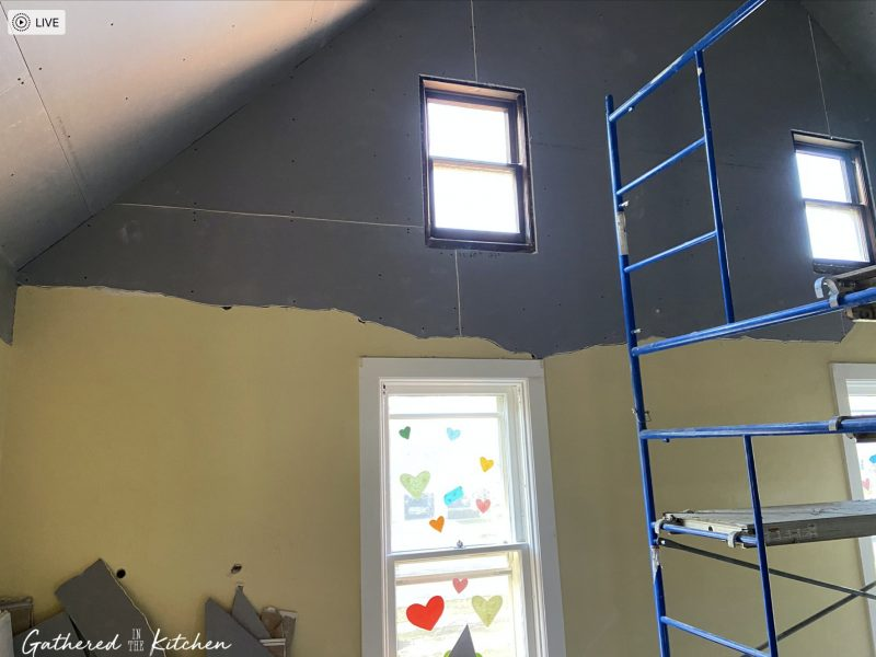 House Update #24: Plaster Walls