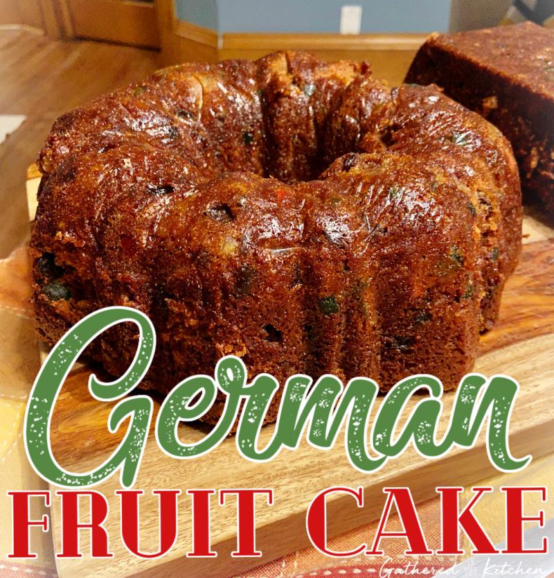 German Fruit Cake