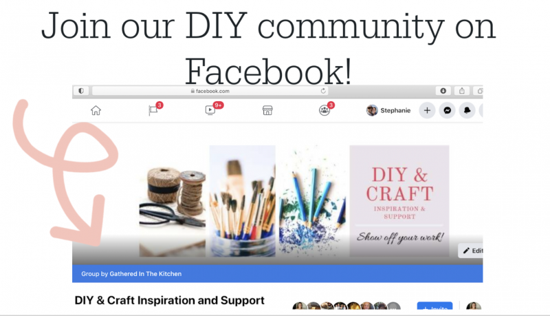 Join our DIY community on Facebook