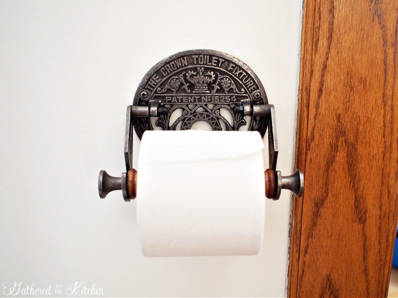 Antique Toilet Paper Roll Holder