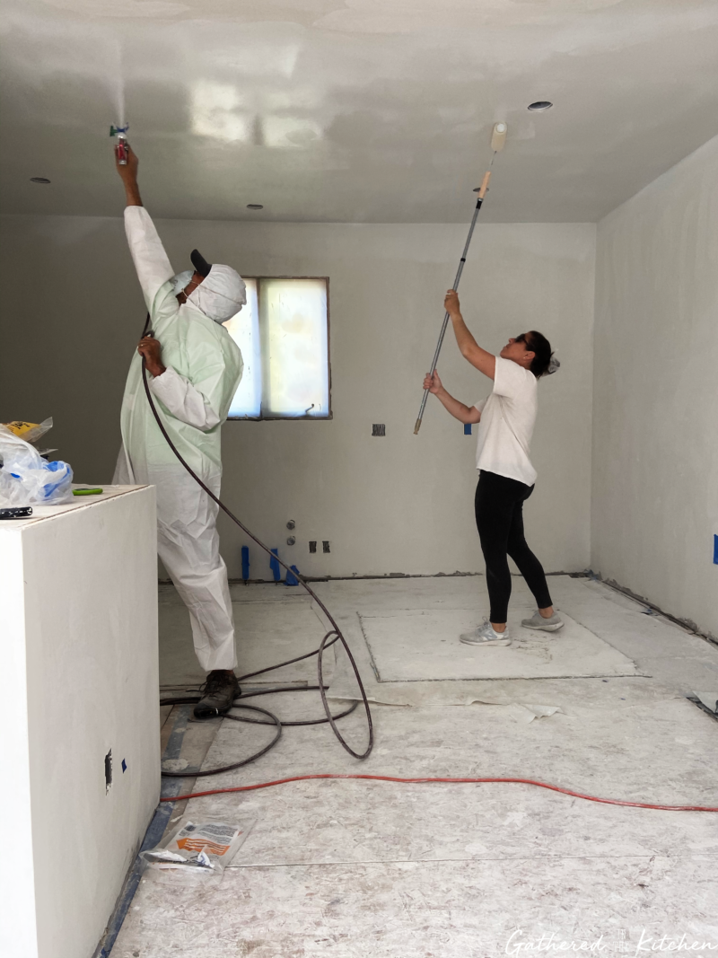 painting ceilings and walls