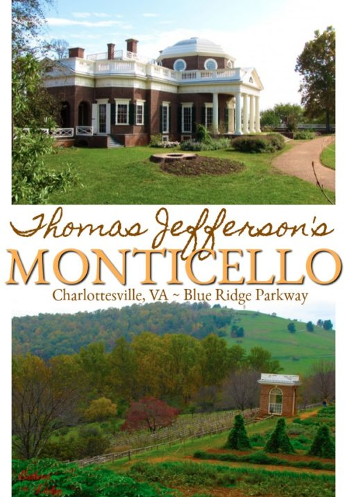 Thomas Jefferson's Monticello, Charlottesville, VA