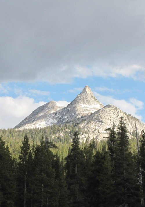 Hiking in Yosemite National Park, California: Clouds Rest Hike