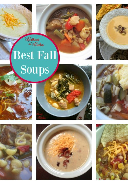 Best Fall Soups that your family will love!