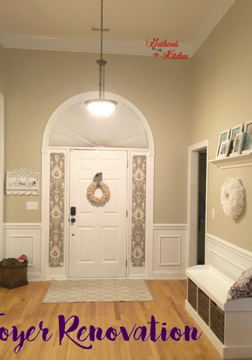 Foyer Renovation: Before & After
