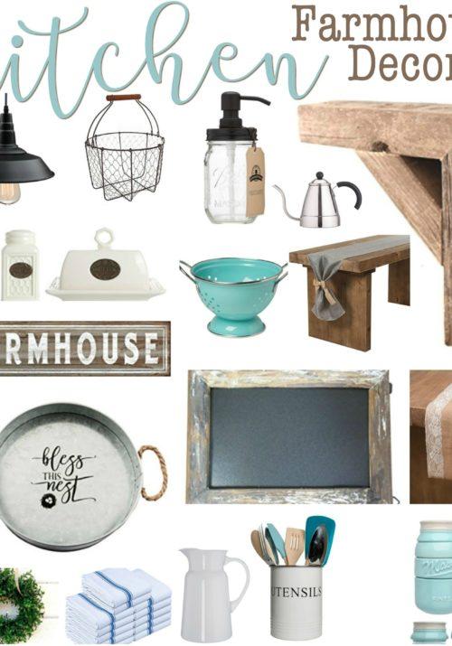 Kitchen Farmhouse Decor Under $20 on Amazon