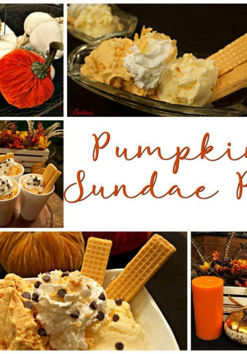 Pumpkin Sundae Pie - so so so good!
