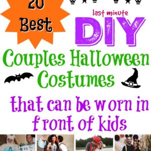 20 Best DIY Couples Halloween Costumes That Can Be Worn in Front of Kids