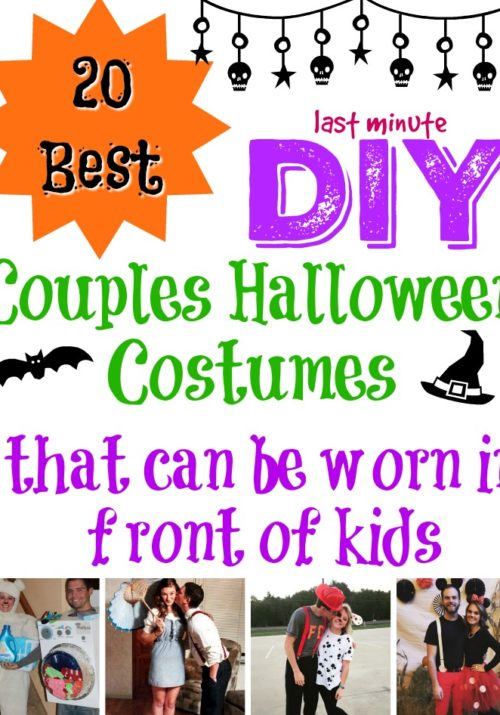 20 Best DIY Couples Halloween Costumes that can be worn in front of kids-2