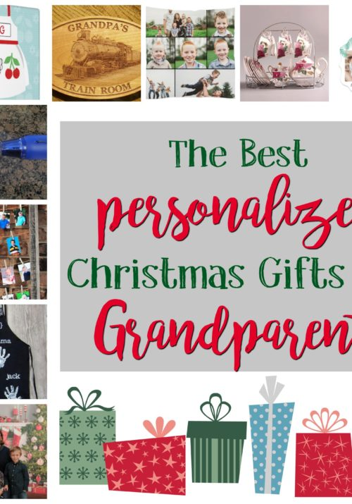 The Best Personalized Christmas Gifts for Grandparents