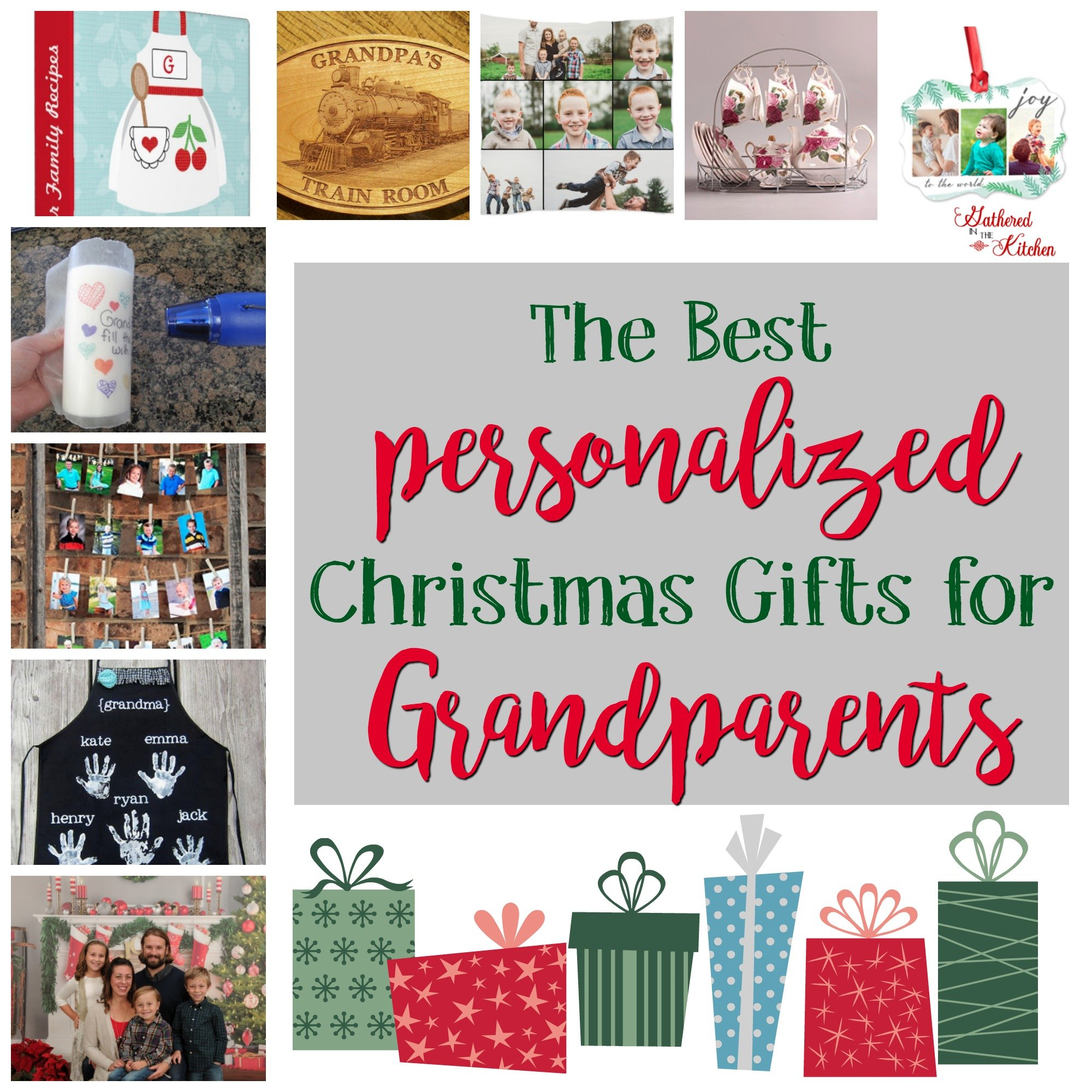 Great Christmas Gifts To Make: Personalized Holiday Gifts For Grandparents