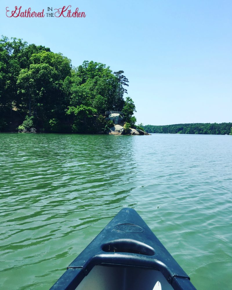 Canoeing and Hiking at Latta Plantation on Mountain Island Lake, Huntersville, North Carolina