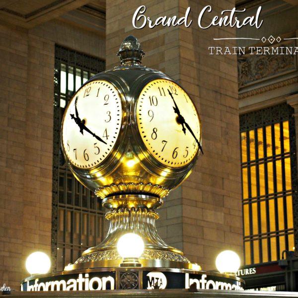 4,000+ Mile Road Trip: Day 4 – Rockefeller Plaza,  Empire State Building & Grand Central Train Terminal