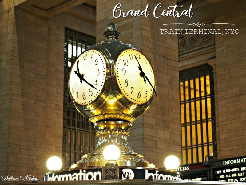 Grand Central Train Terminal NYC
