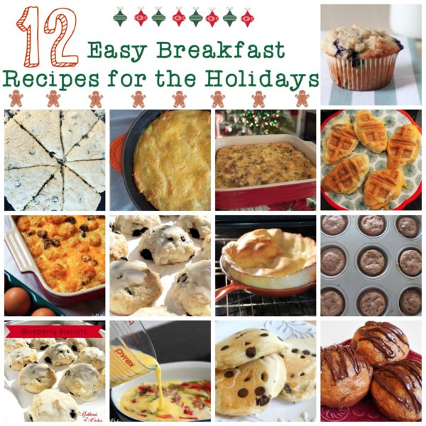12 Easy Breakfast Recipes for the Holidays