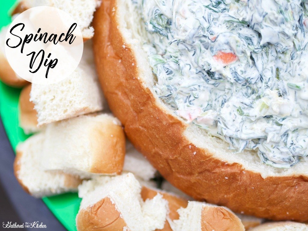 Lipton Soup Spinach Dip